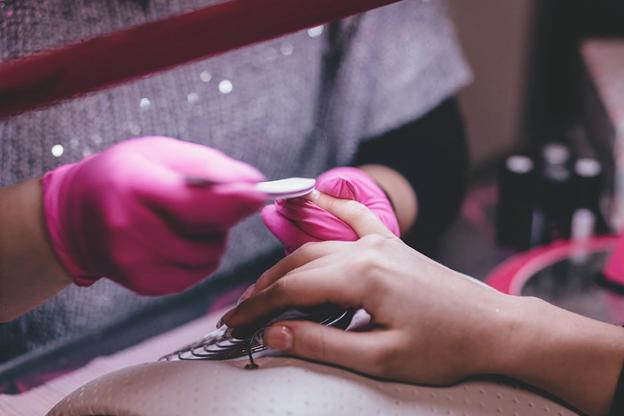 a manicure service