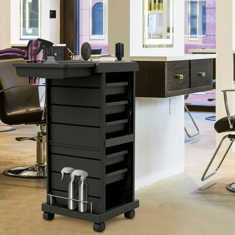 A handy and spacious premium quality Salon Trolley
