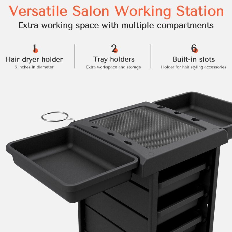 An image describing amazing features of Tasalon trolley.